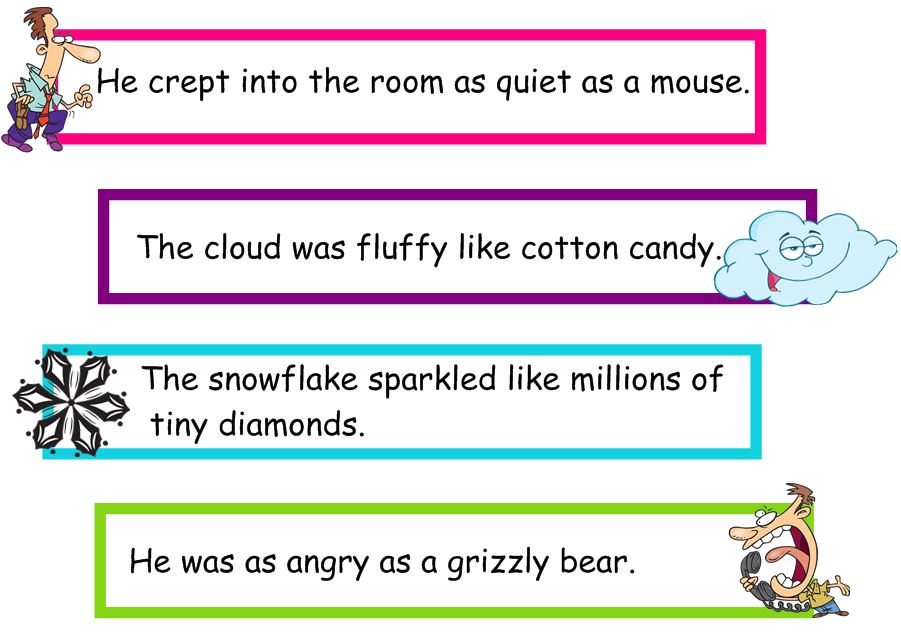 "Search Results for ""Simile Sentences Examples For Kids ..."